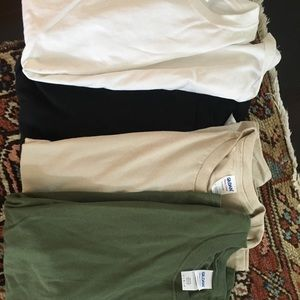 Tops - Bunch of Plain Short Sleeve Tees (4 colors)